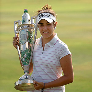 Maria Jose Uribe, first Colombian to ever win a USGA title
